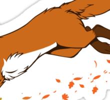 Autumn Fox Sticker