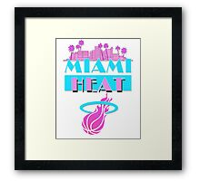 Heat Vice Sky High Framed Print