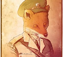 Red Army Fox by André Persechini