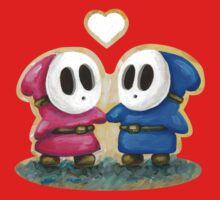 Shy Guys in Love! Kids Clothes