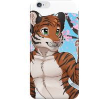 Cherry Blossom Tiger iPhone Case/Skin