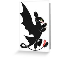 Toothless Heraldry Greeting Card