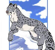 Mountain Snow Leopard by etuix