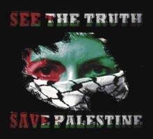 See The Truth, Save PALESTINE by diannasdesign