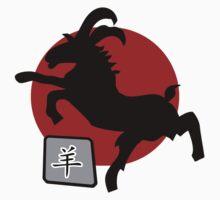Chinese New Year of The Sheep Goat Ram by ChineseZodiac
