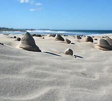 Sand sculptures by Morag Anderson