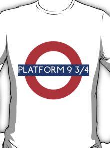 Fandom Tube- PLATFORM 9 3/4 T-Shirt