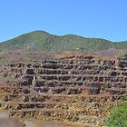 Lavendar Pit - Bisbee Az by Ann Warrenton
