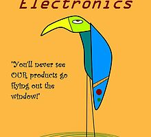 Lazy Bird Electronics by Uncle McPaint