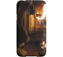 At the Fireside Samsung Galaxy Case/Skin