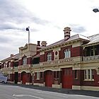 Hobart Fire station (2) by Margaret  Hyde