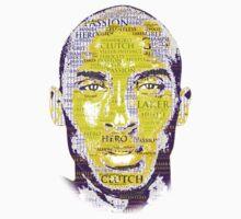 Kobe Bryant word collage by EversonInd