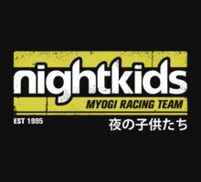Initial D - NightKids Tee (White) by Chad D'cruze