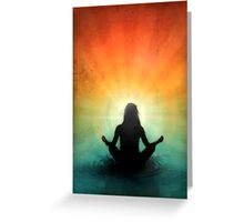 At Peace Within Greeting Card