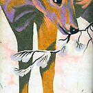 faun, baby deer by resonanteye