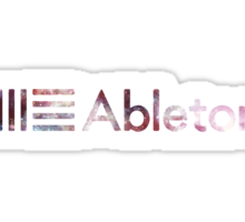 Ableton Space Logo Sticker