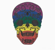 Rainbow Sugar Skull Kids Clothes