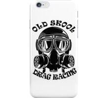 Old Skool Drag Racing Design iPhone Case/Skin