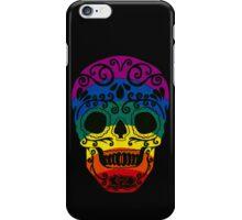 Rainbow Sugar Skull iPhone Case/Skin