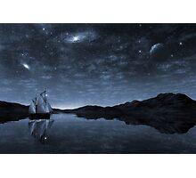 Beneath a jewelled sky Photographic Print
