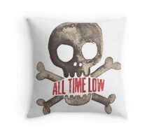 All Time Low  Throw Pillow