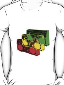 Ghetto Blasta Design T-Shirt