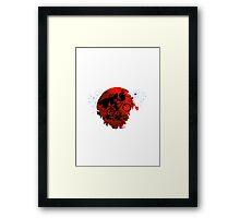 ET and Darth Vader Go Home Design Framed Print