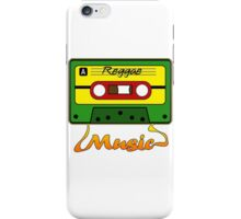 Reggae Tape Design iPhone Case/Skin