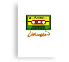 Reggae Tape Design Canvas Print