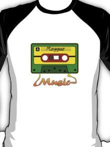 Reggae Tape Design T-Shirt
