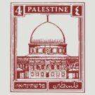 Palestine Stamp by Daniel Gallegos