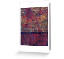 0799 Abstract Thought Greeting Card