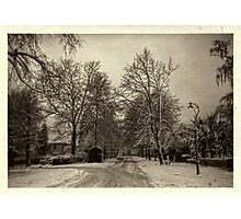 It Snowed that Day Photographic Print