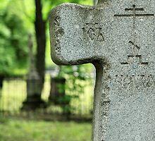 cross gravestone by mrivserg