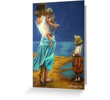 """""""By The Beautiful Sea"""" Greeting Card"""