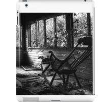 19.7.2014: Rocking Chair, Abandoned Veranda iPad Case/Skin