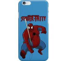 Your Friendly Neighborhood Spiderfatty iPhone Case/Skin