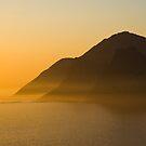Sunset @ Chapman's Peak Drive by Martie Venter