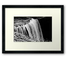 """Edges"" Framed Print"