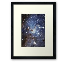 Blue Galaxy Framed Print