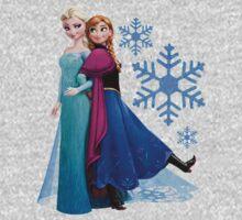 Frozen - Elsa and Anna Design Kids Clothes