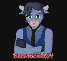 LIMITED EDITION Bronycon 2014 Brass Knuckles Crossed Arms by Riftwing Designs