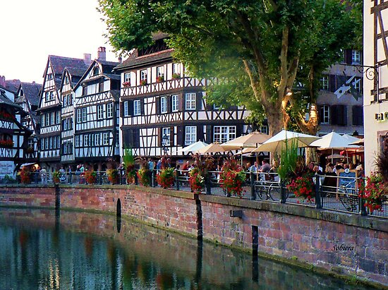 Dining in Alsace by Rosemary Sobiera
