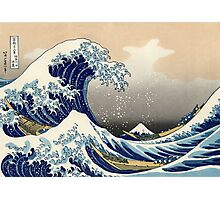 Great Wave Photographic Print