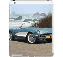 1956 Chevrolet Corvette Convertible 'Pacific Coast' iPad Case/Skin