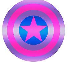 Bi Pride Shield by kayisatoaster