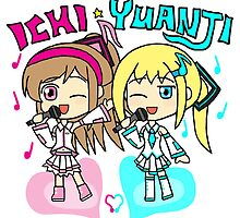 Wang Yuanji x Ichi *Vocaloids* by gaming123456