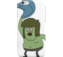 Muscle man Regular Show iPhone Case/Skin