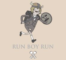 Run Boy Run TIME - (Woodkid and Adventure Time parody) by clara-linda