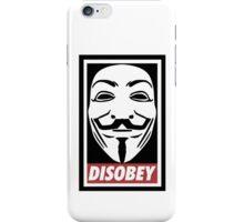 Disobey Vendetta iPhone Case/Skin